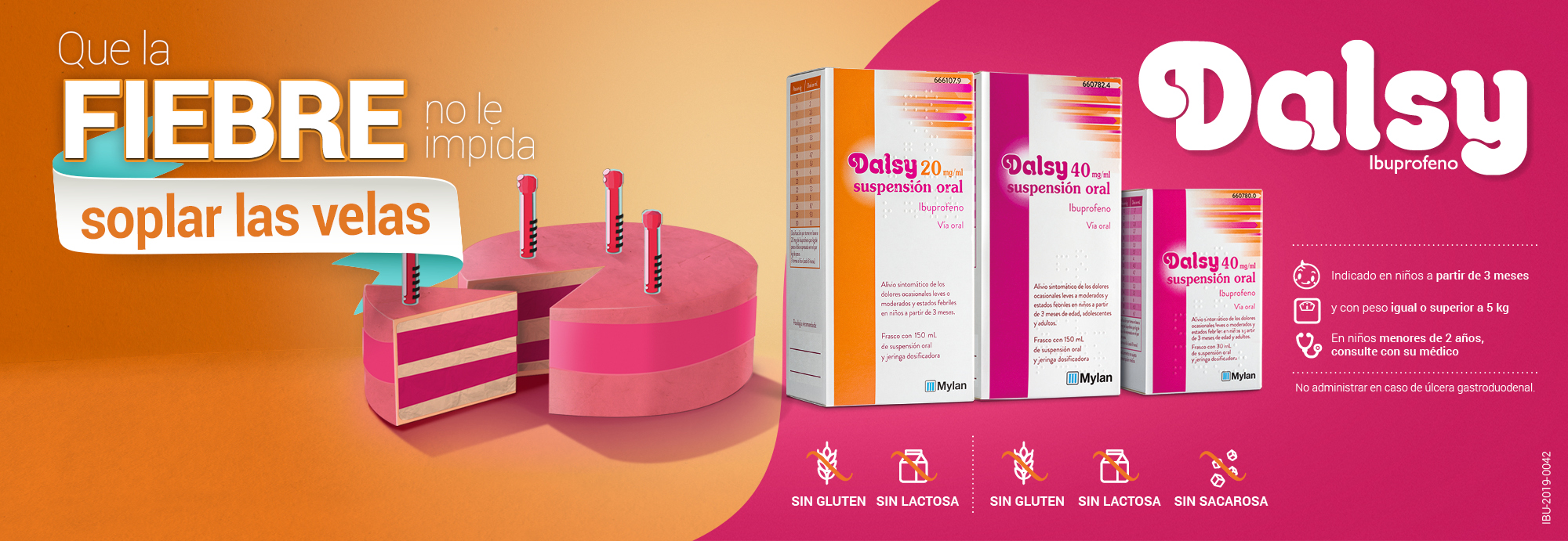 Dasly Suspension Oral para Fiebre