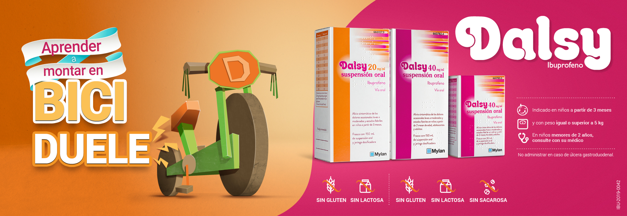 Dasly Suspension Oral ibuprofeno